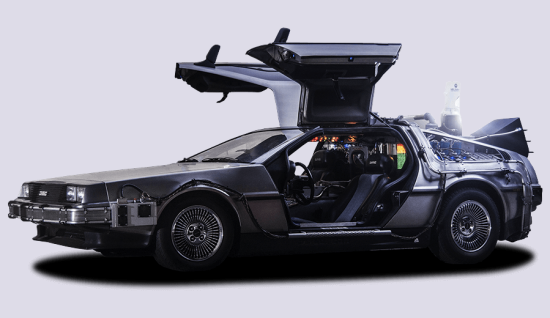 Homepage Delorean